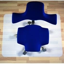 "FlatColor mit ABS  90x120 cm ""leicht transp./Weiss"" (A)"