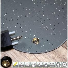 StatPro 3,5mm Antistatik+Kabel nach Mass / Skizze (m2)