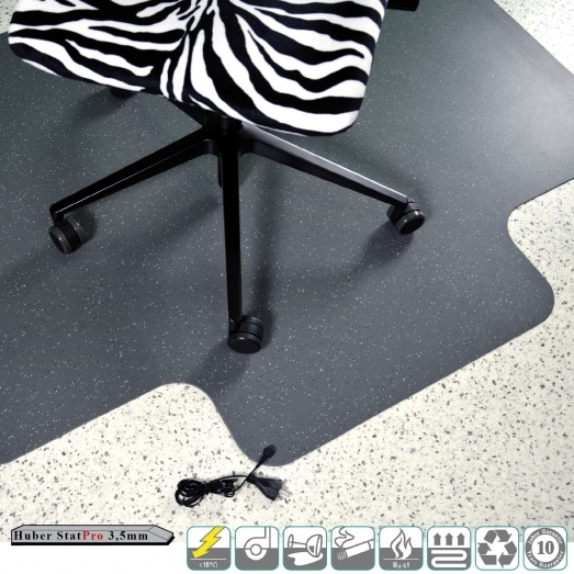 Huber Stat PRO 3,5mm (per pavimenti duri + moquette)