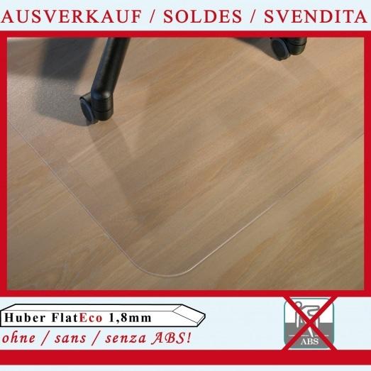Huber Flat ECO 1,8mm OHNE abs (für Hartböden)
