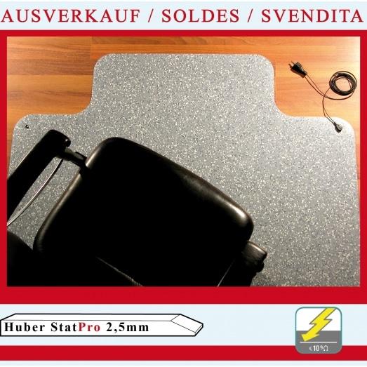 Huber Stat PRO 2,5mm (für Hartböden + Teppiche)